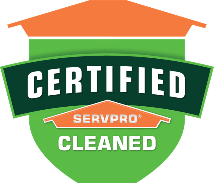 image that says Certified: SERVPRO cleaned